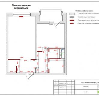 Дизайн двухкомнатной квартиры 48 кв. м в современном стиле. Фото проекта