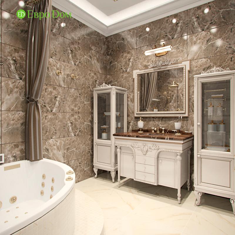 Дизайн 4-комнатной квартиры в стиле классицизм. Фото 02