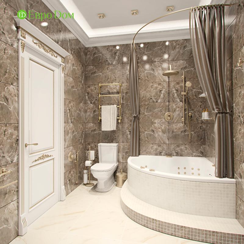 Дизайн 4-комнатной квартиры в стиле классицизм. Фото 03