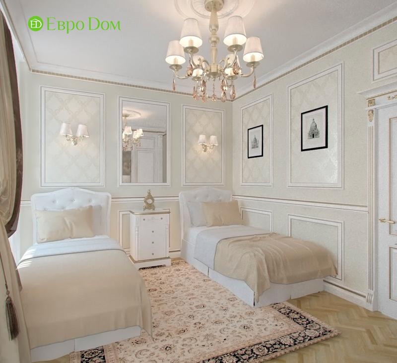 Дизайн 4-комнатной квартиры в стиле классицизм. Фото 08