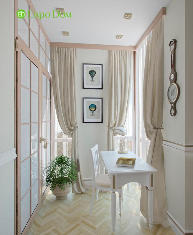 Дизайн 4-комнатной квартиры в стиле классицизм. Фото 09