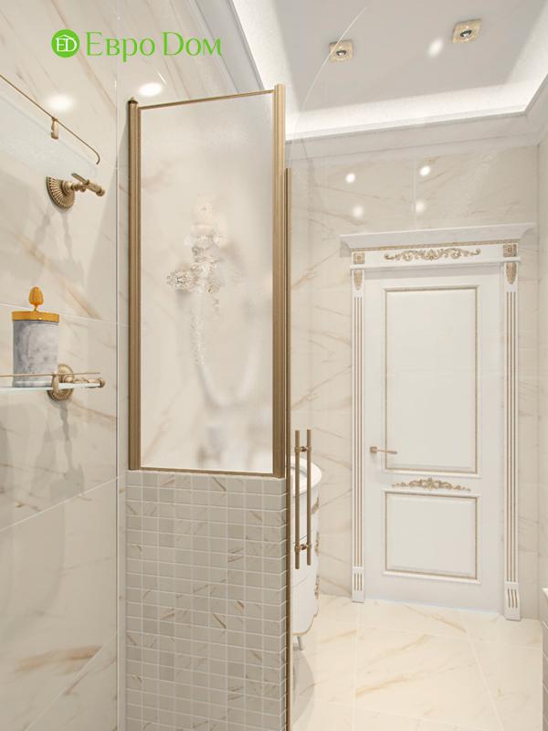 Дизайн 4-комнатной квартиры в стиле классицизм. Фото 010
