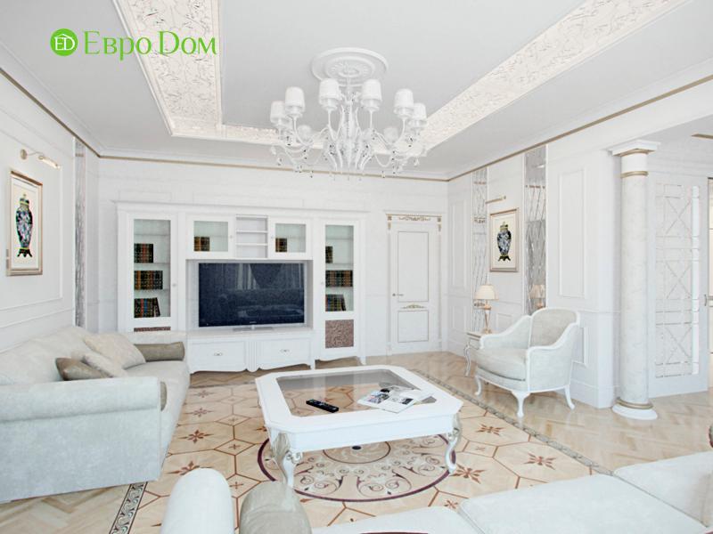 Дизайн 4-комнатной квартиры в стиле классицизм. Фото 013