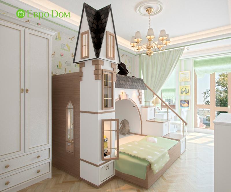 Дизайн 4-комнатной квартиры в стиле классицизм. Фото 014