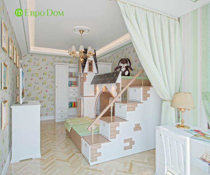 Дизайн 4-комнатной квартиры в стиле классицизм. Фото 015