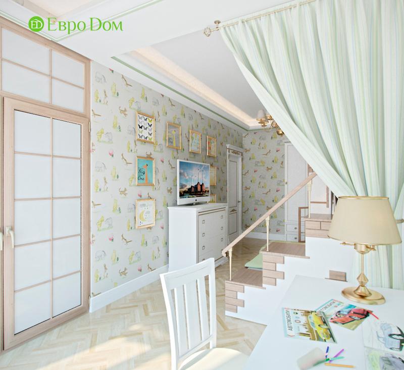 Дизайн 4-комнатной квартиры в стиле классицизм. Фото 016