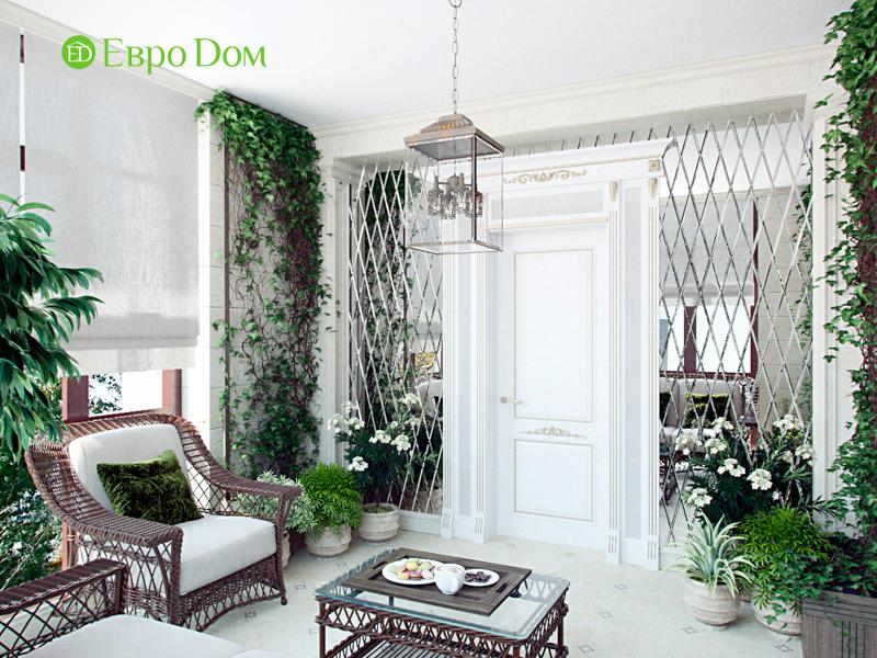 Дизайн 4-комнатной квартиры в стиле классицизм. Фото 017