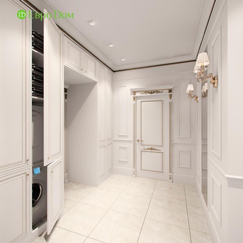 Дизайн 4-комнатной квартиры в стиле классицизм. Фото 019