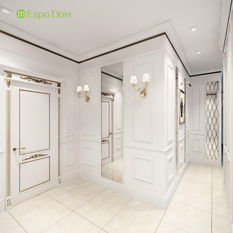 Дизайн 4-комнатной квартиры в стиле классицизм. Фото 020