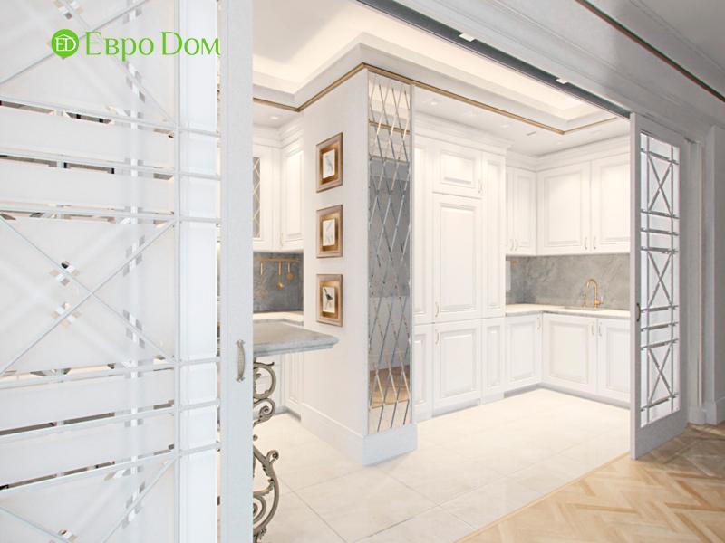 Дизайн 4-комнатной квартиры в стиле классицизм. Фото 022