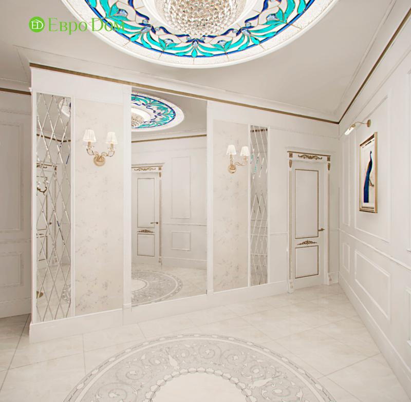Дизайн 4-комнатной квартиры в стиле классицизм. Фото 023