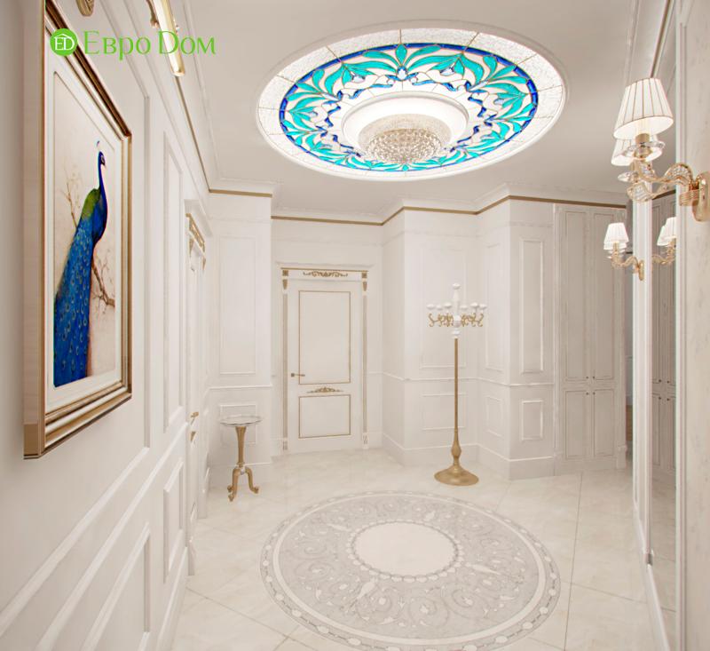 Дизайн 4-комнатной квартиры в стиле классицизм. Фото 024