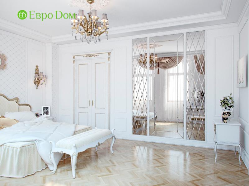 Дизайн 4-комнатной квартиры в стиле классицизм. Фото 026