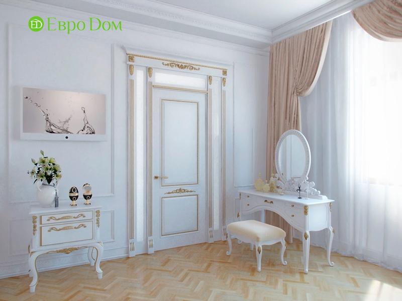 Дизайн 4-комнатной квартиры в стиле классицизм. Фото 027