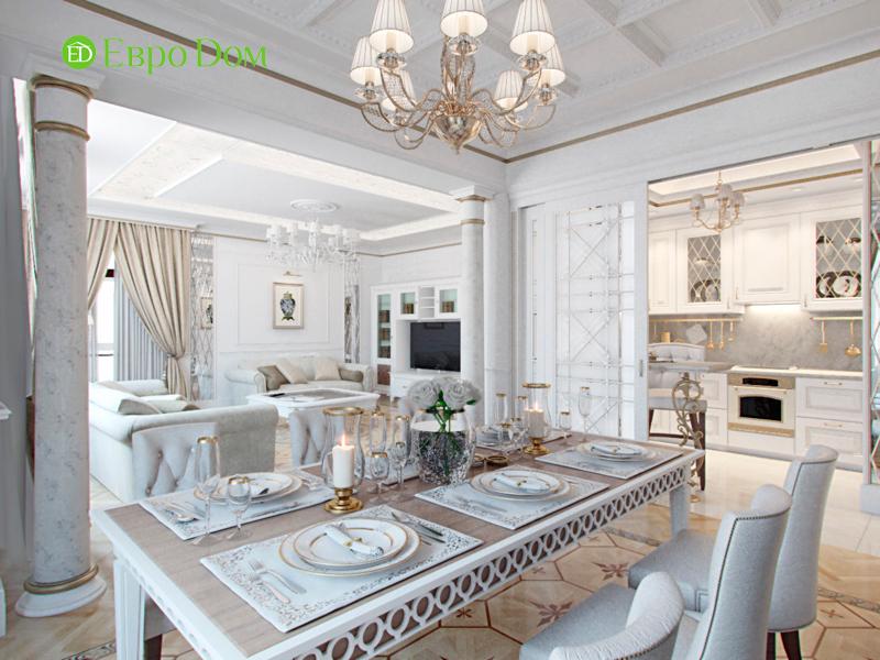 На фото: Квартира в стиле классицизм
