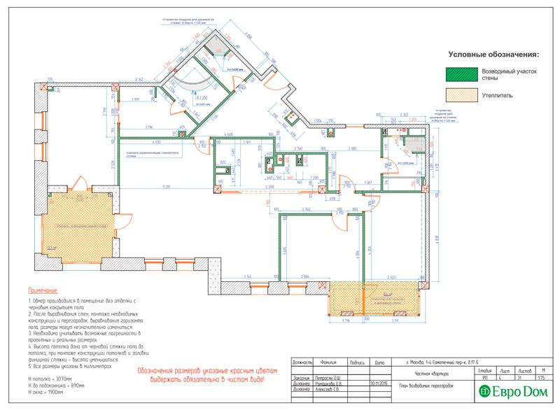 Дизайн 4-комнатной квартиры в стиле классицизм. Фото 032