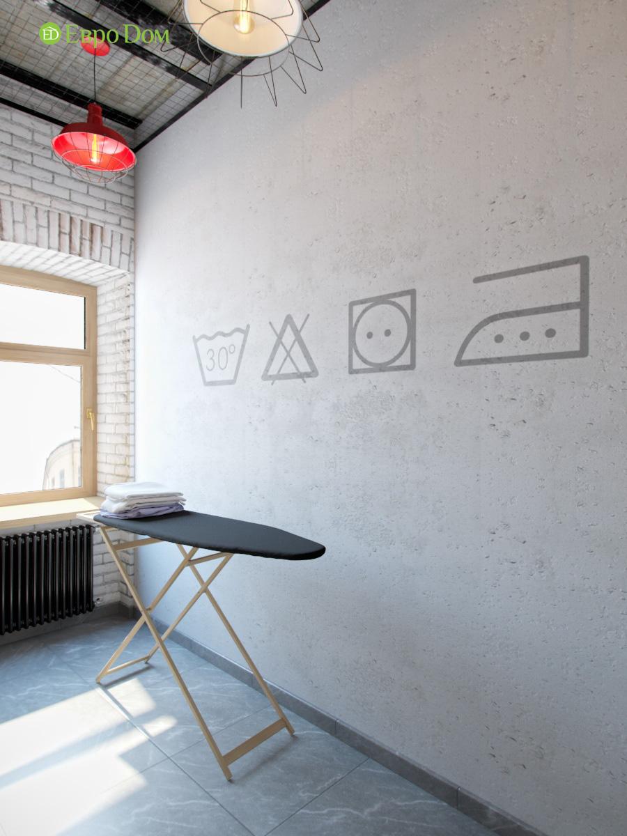Дизайн 4-комнатной квартиры в стиле лофт. Фото 07