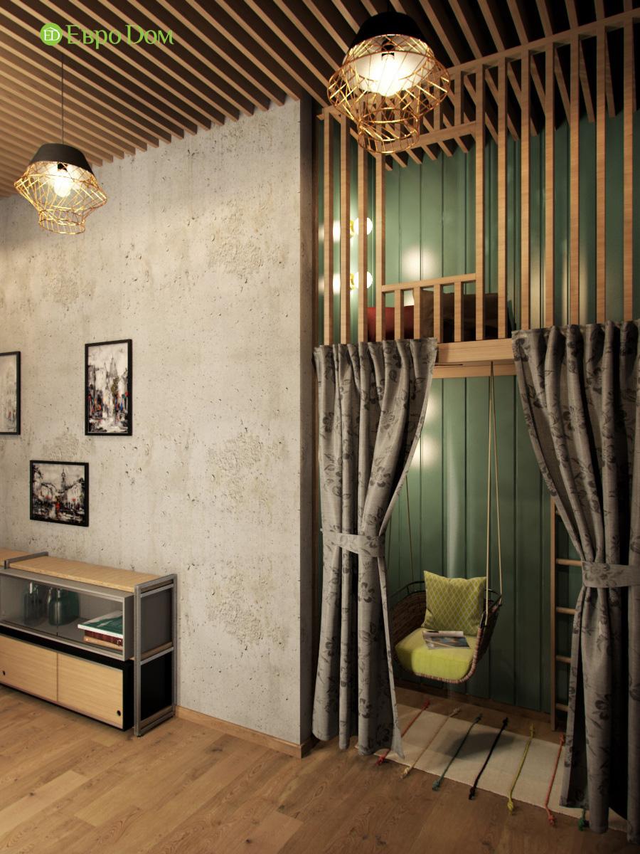 Дизайн 4-комнатной квартиры в стиле лофт. Фото 09