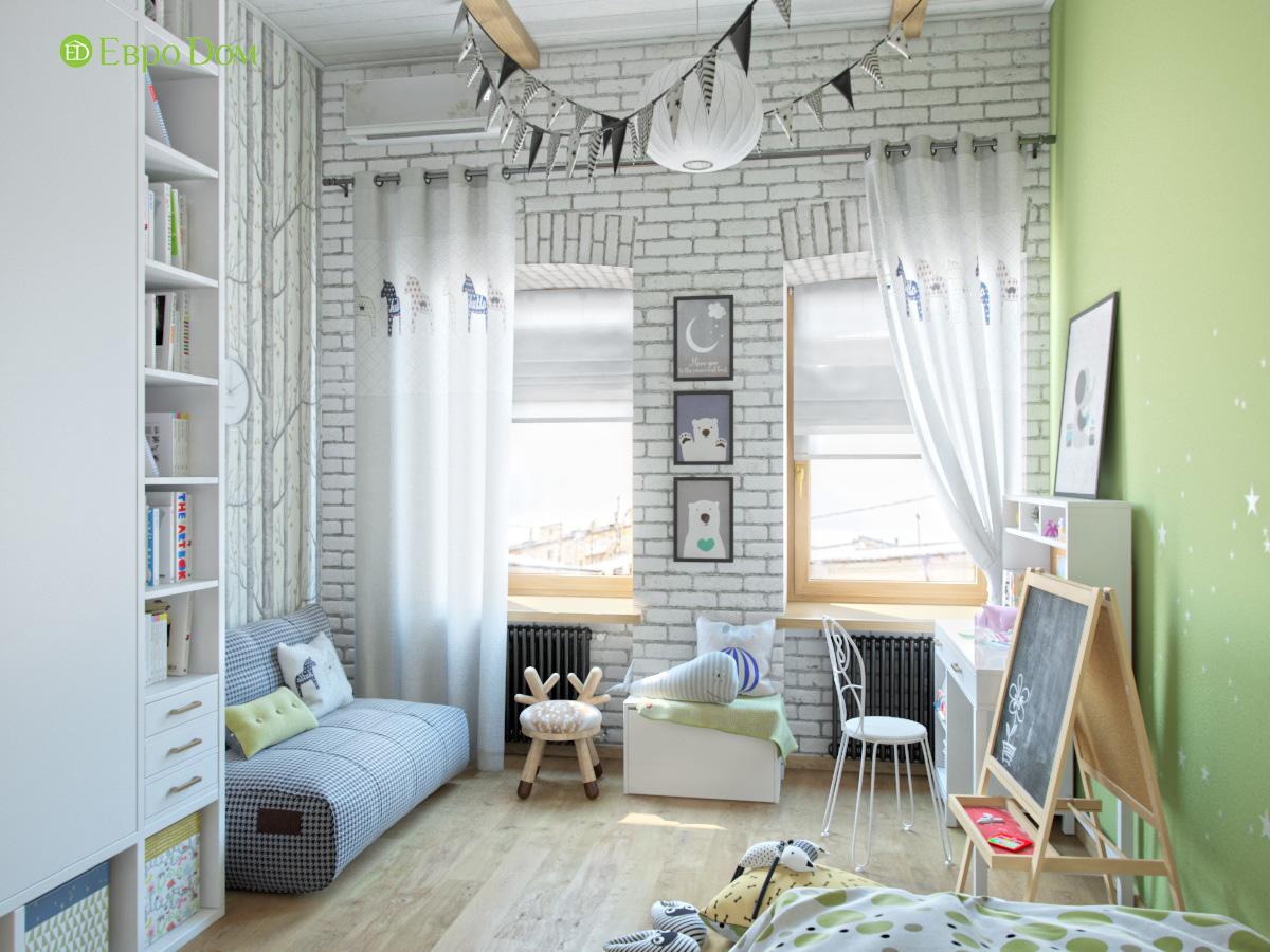 Дизайн 4-комнатной квартиры в стиле лофт. Фото 010