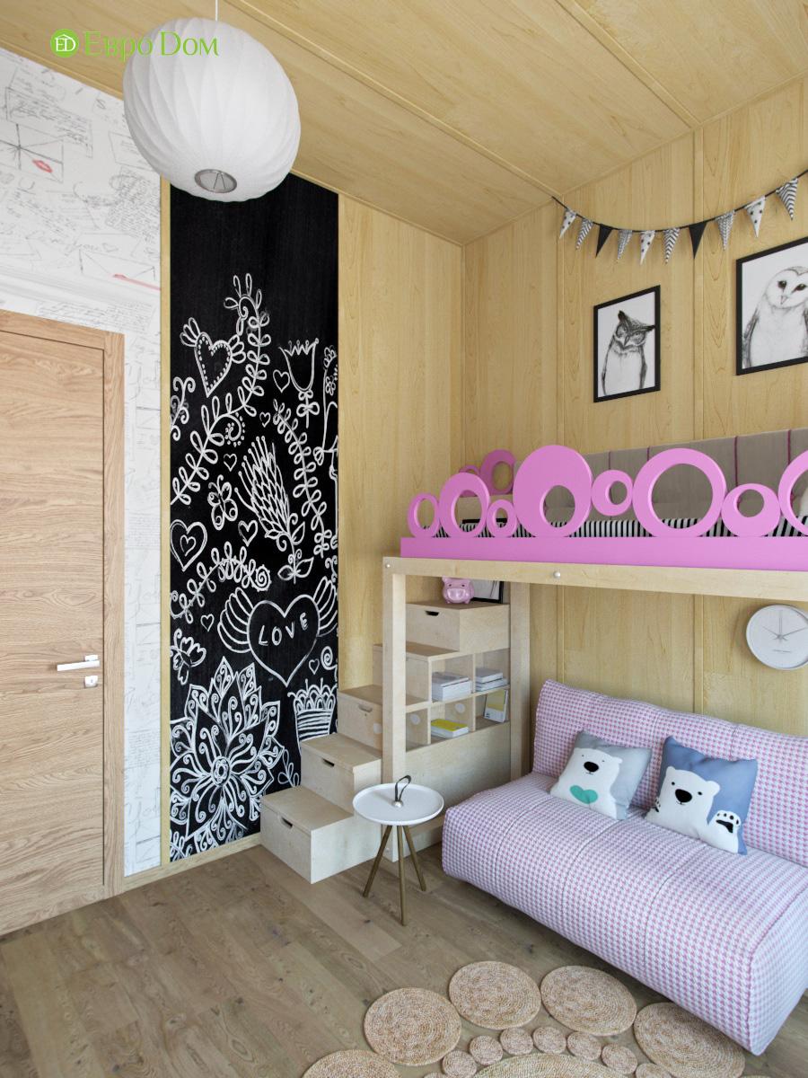 Дизайн 4-комнатной квартиры в стиле лофт. Фото 013