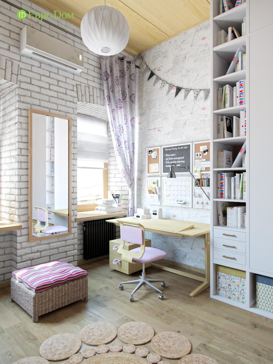 Дизайн 4-комнатной квартиры в стиле лофт. Фото 014