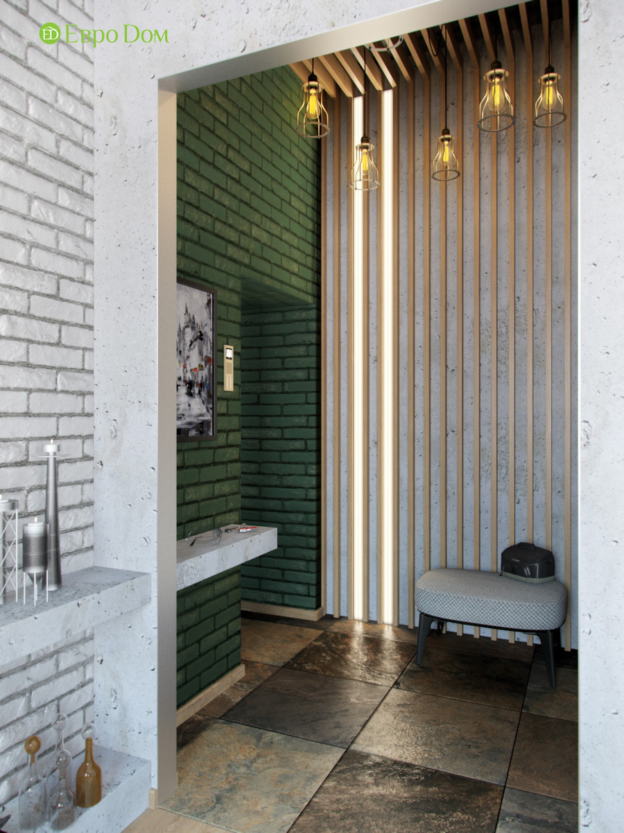 Дизайн 4-комнатной квартиры в стиле лофт. Фото 015