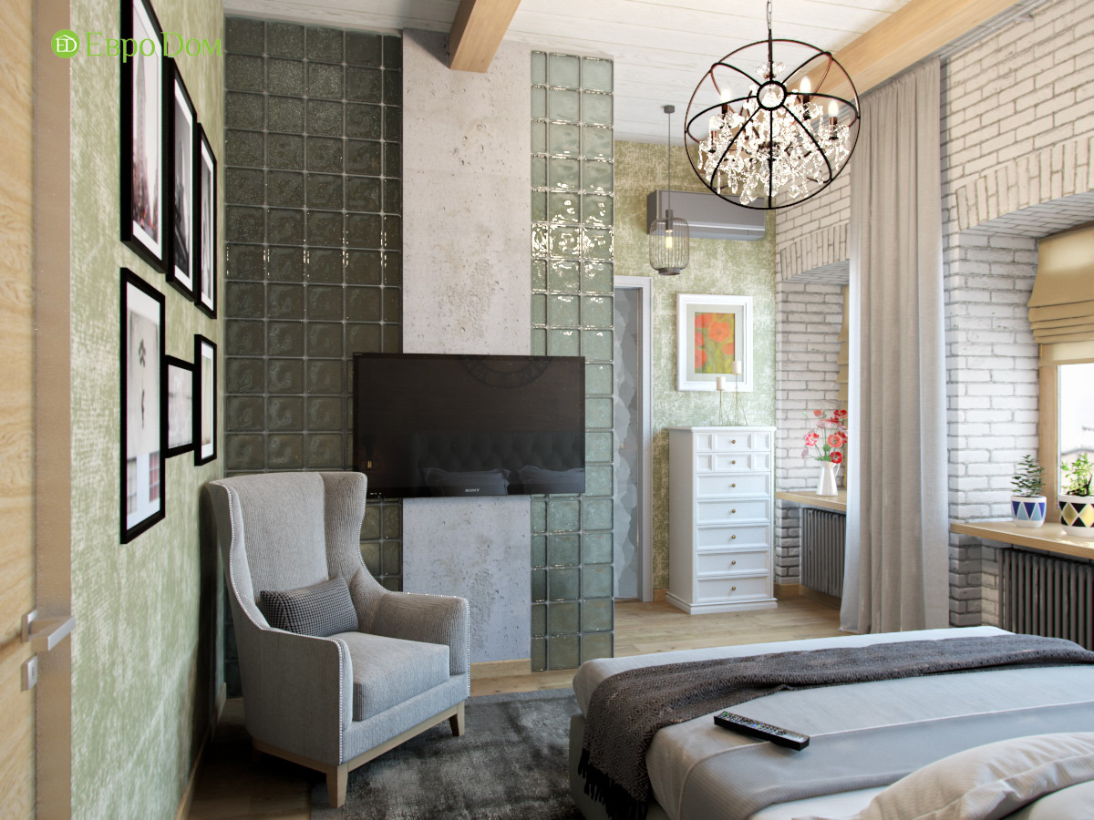 Дизайн 4-комнатной квартиры в стиле лофт. Фото 016