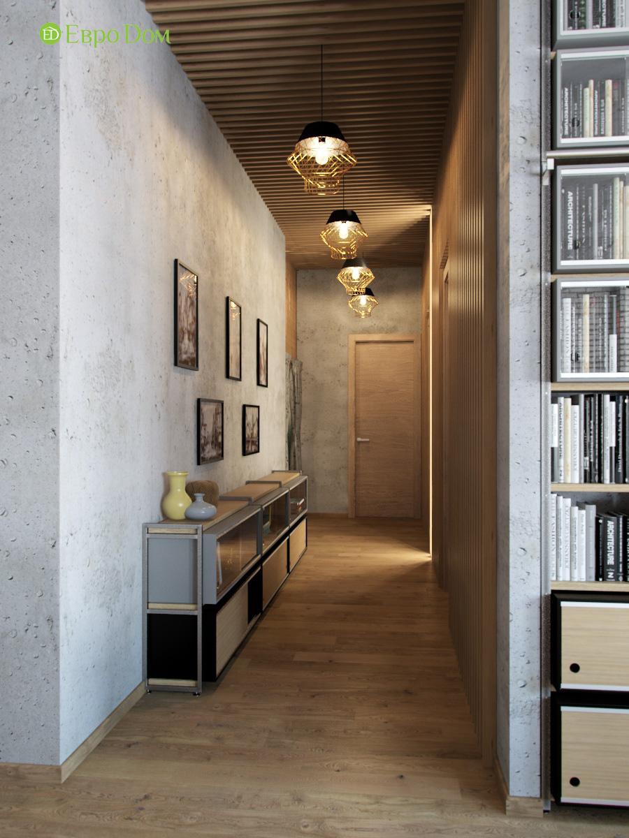 Дизайн 4-комнатной квартиры в стиле лофт. Фото 018