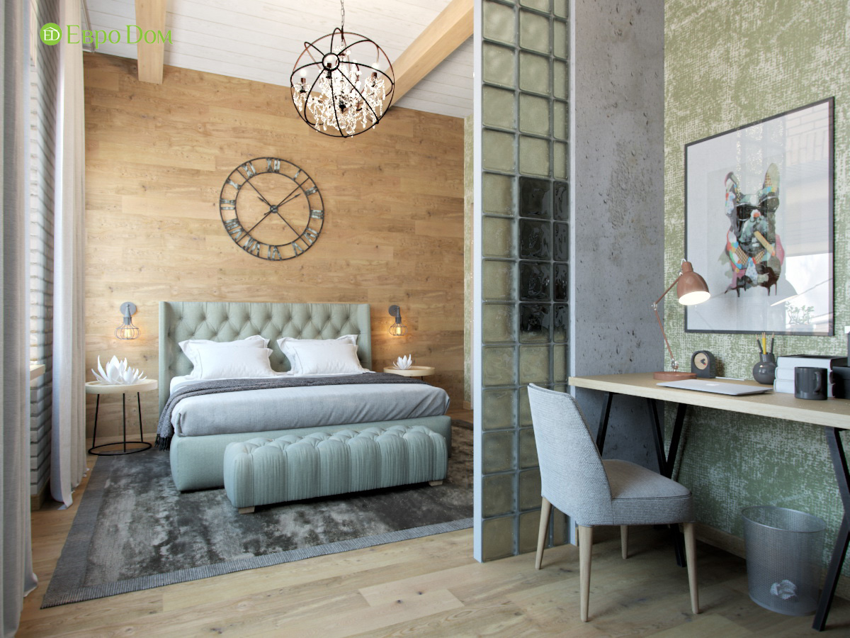 Дизайн 4-комнатной квартиры в стиле лофт. Фото 019