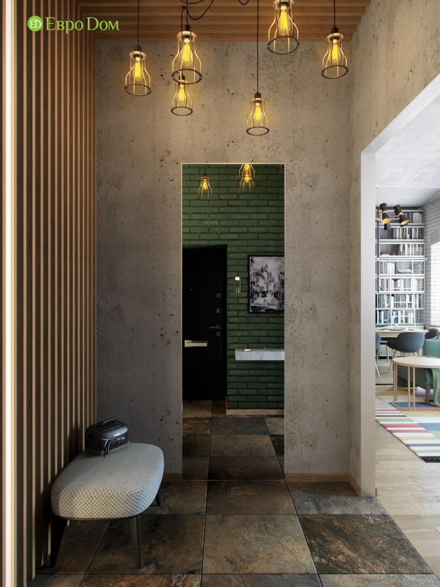 Дизайн 4-комнатной квартиры в стиле лофт. Фото 020