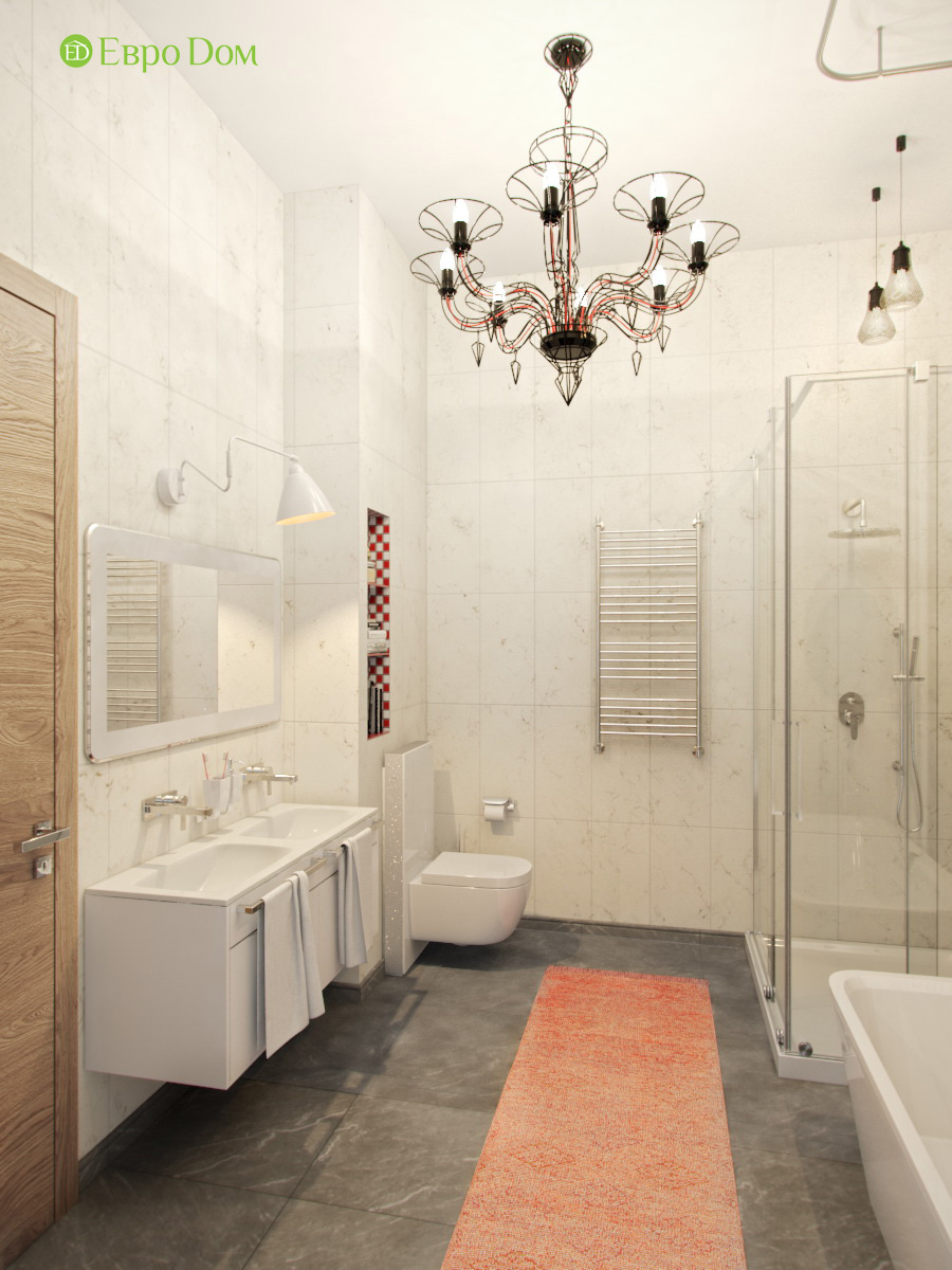 Дизайн 4-комнатной квартиры в стиле лофт. Фото 021