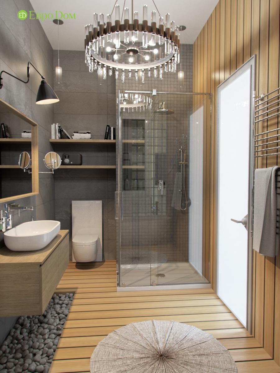 Дизайн 4-комнатной квартиры в стиле лофт. Фото 022