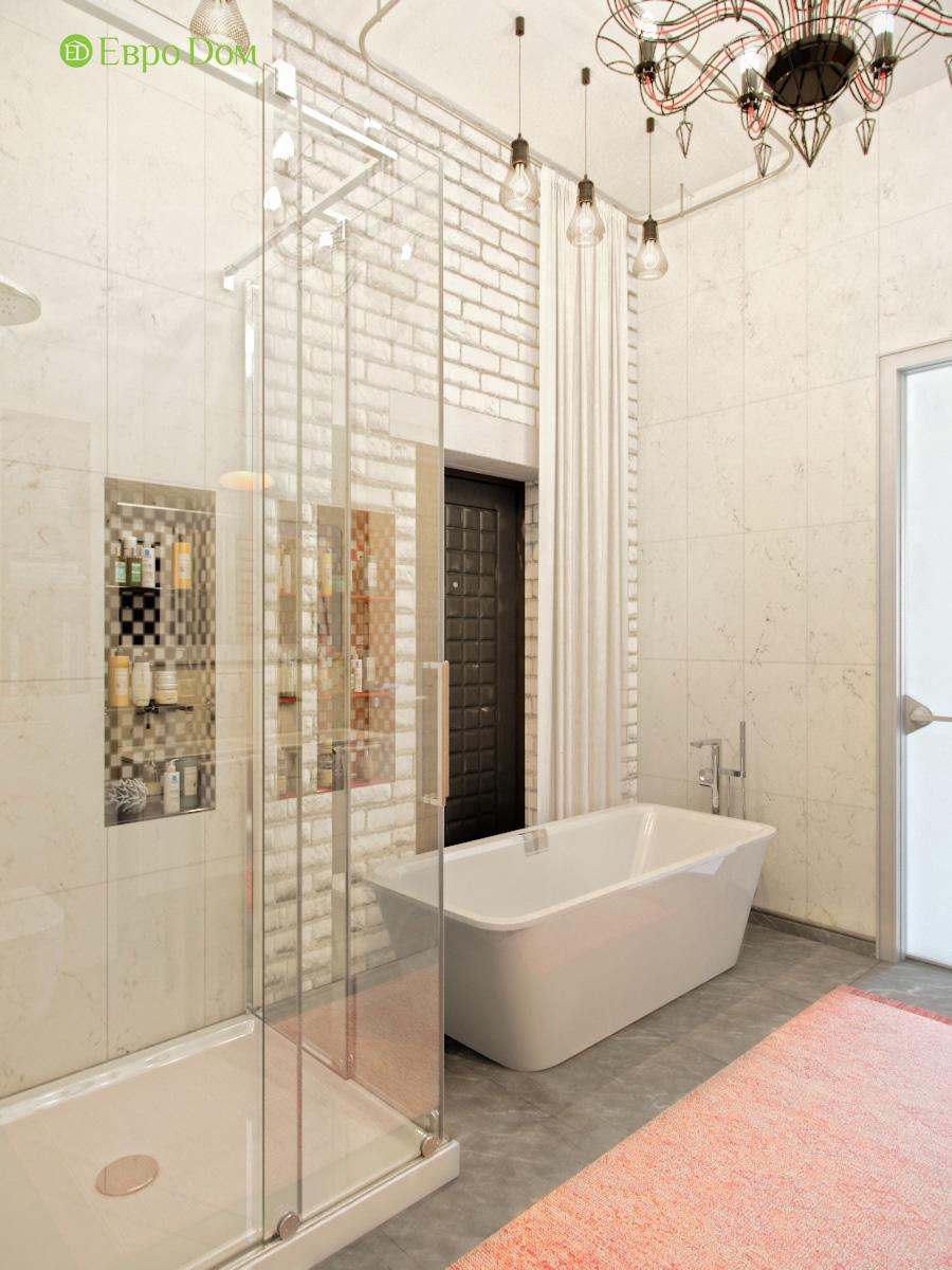 Дизайн 4-комнатной квартиры в стиле лофт. Фото 024