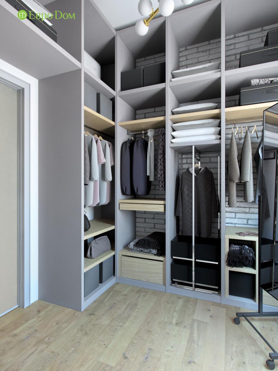 Дизайн 4-комнатной квартиры в стиле лофт. Фото 026