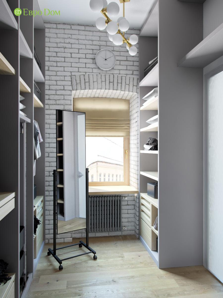 Дизайн 4-комнатной квартиры в стиле лофт. Фото 027