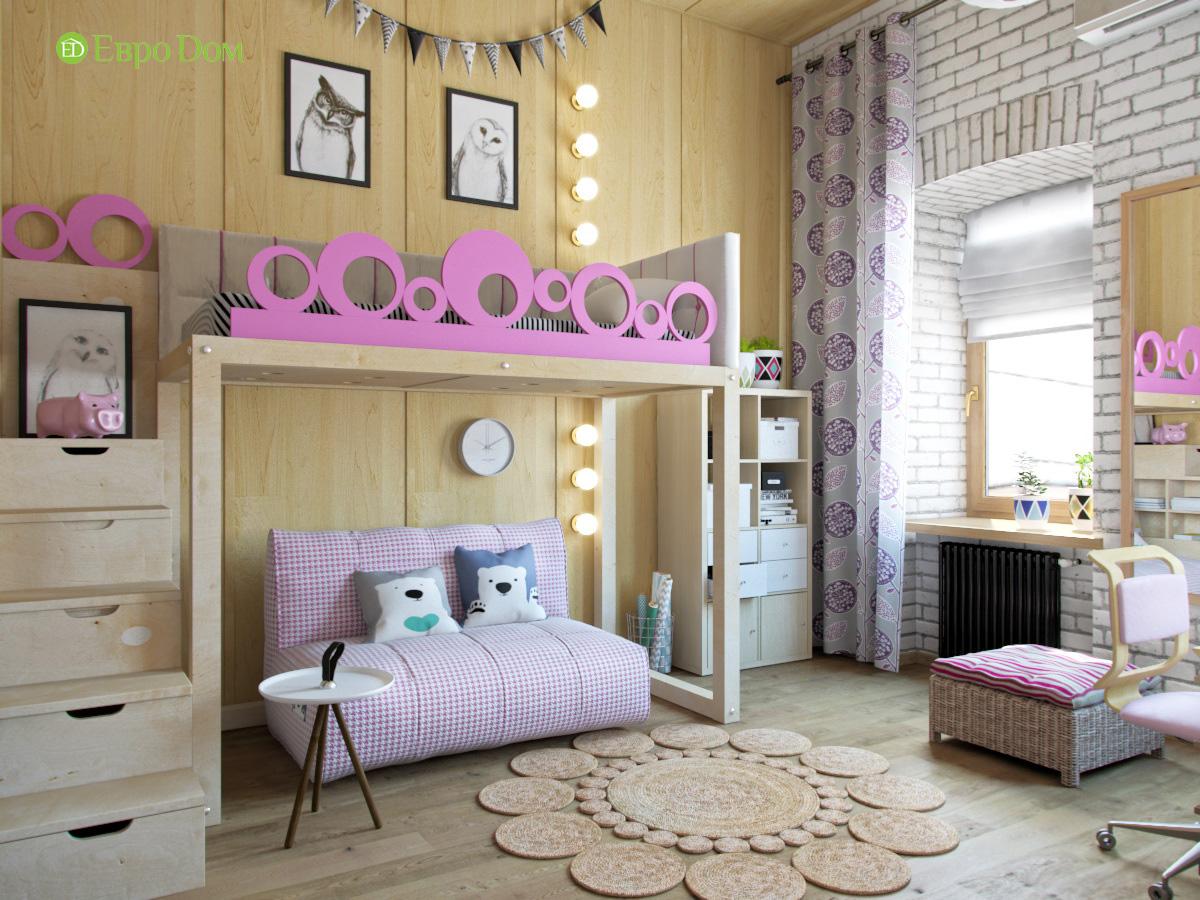 Дизайн 4-комнатной квартиры в стиле лофт. Фото 028