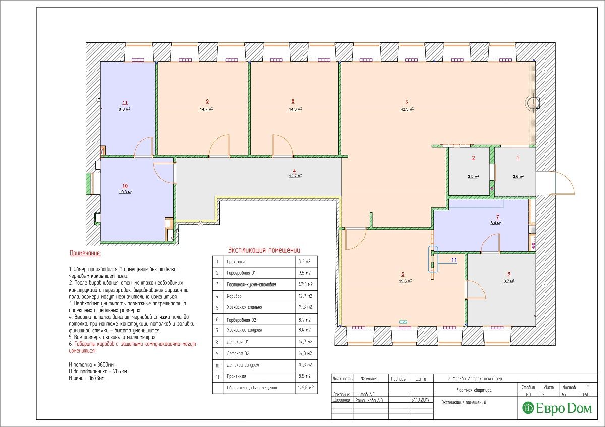 Дизайн 4-комнатной квартиры в стиле лофт. Фото 031