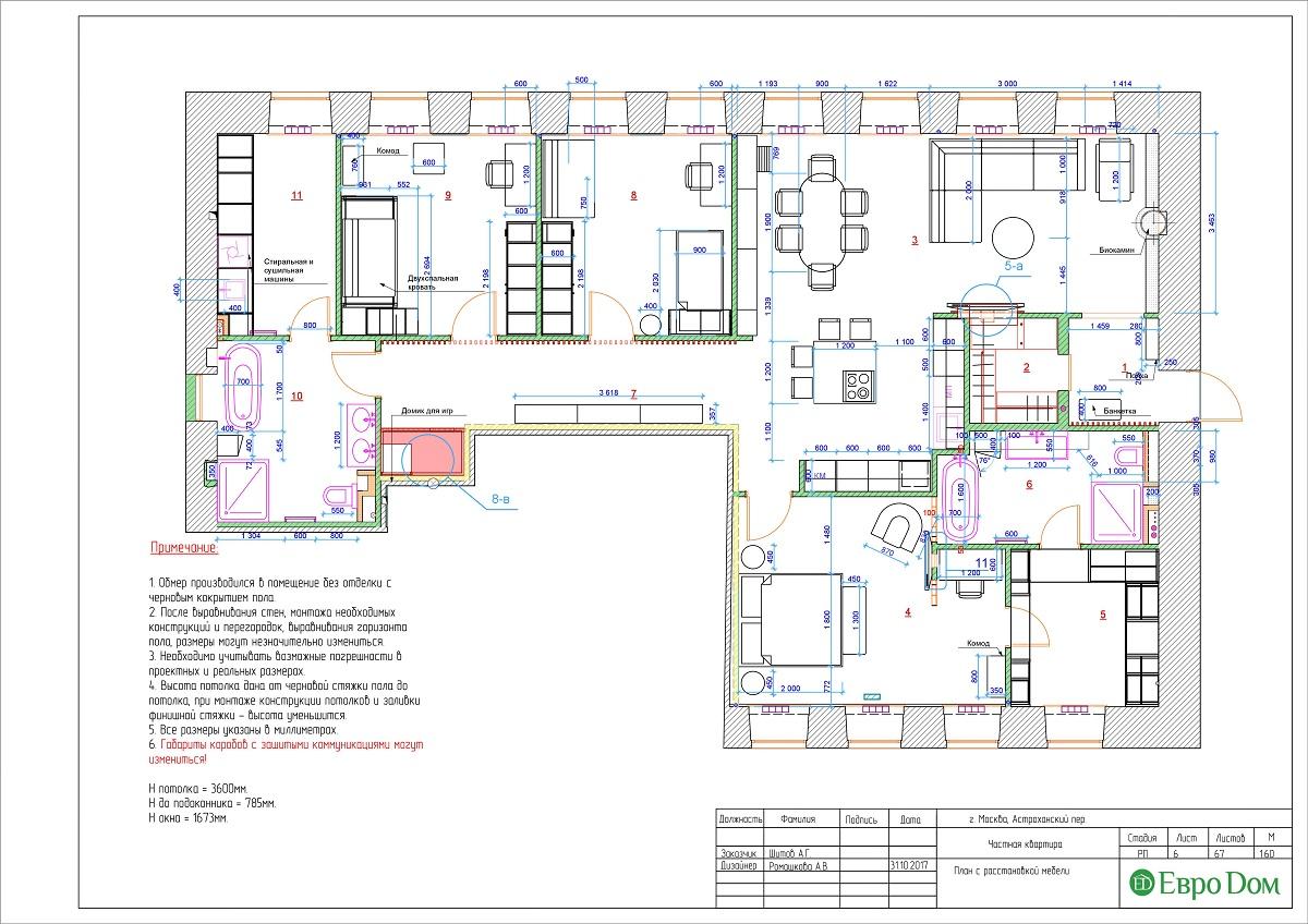 Дизайн 4-комнатной квартиры в стиле лофт. Фото 032