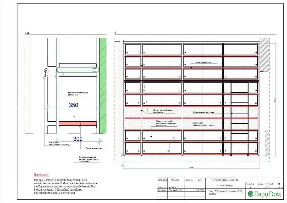 Дизайн 4-комнатной квартиры в стиле лофт. Фото 050
