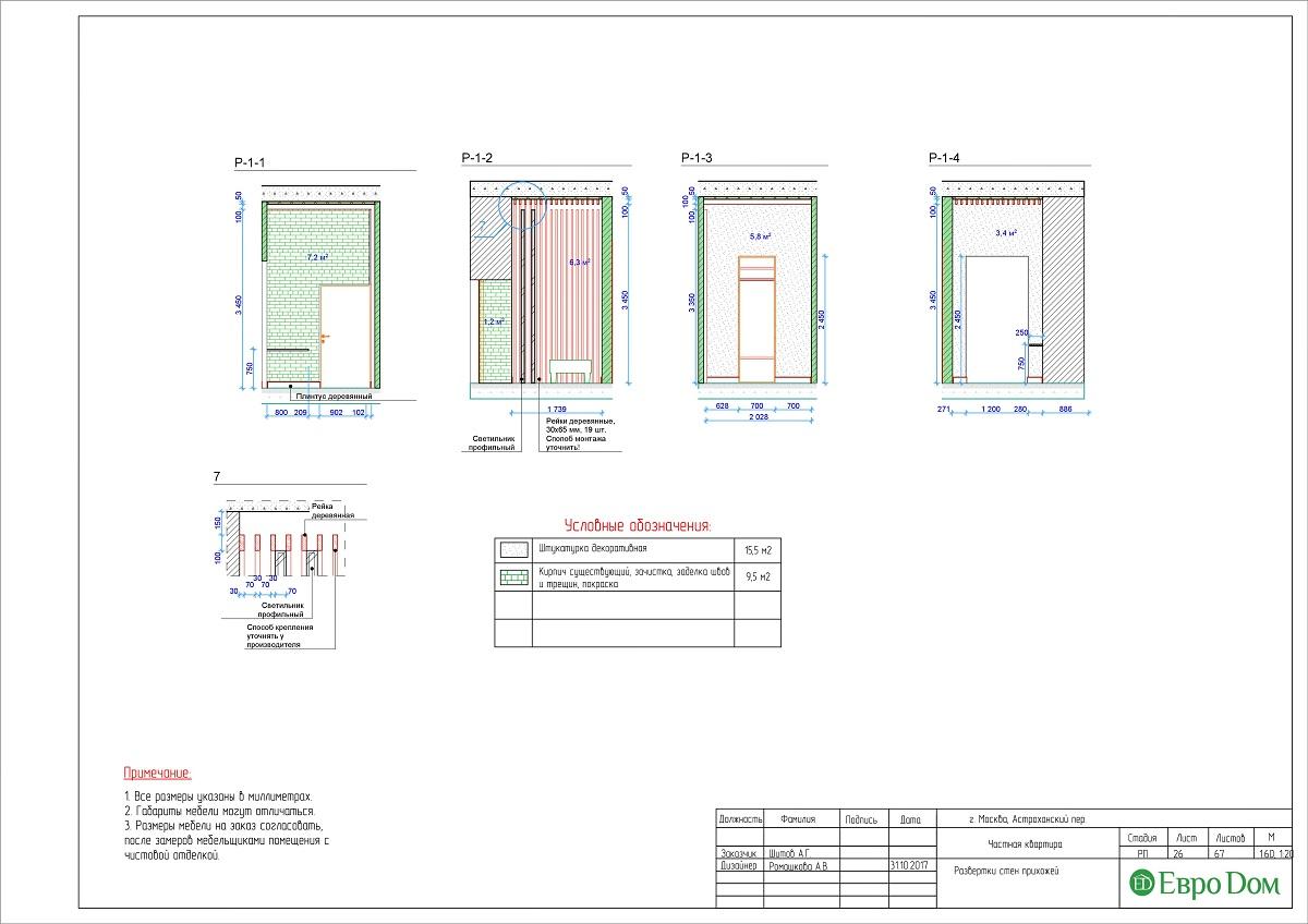 Дизайн 4-комнатной квартиры в стиле лофт. Фото 052