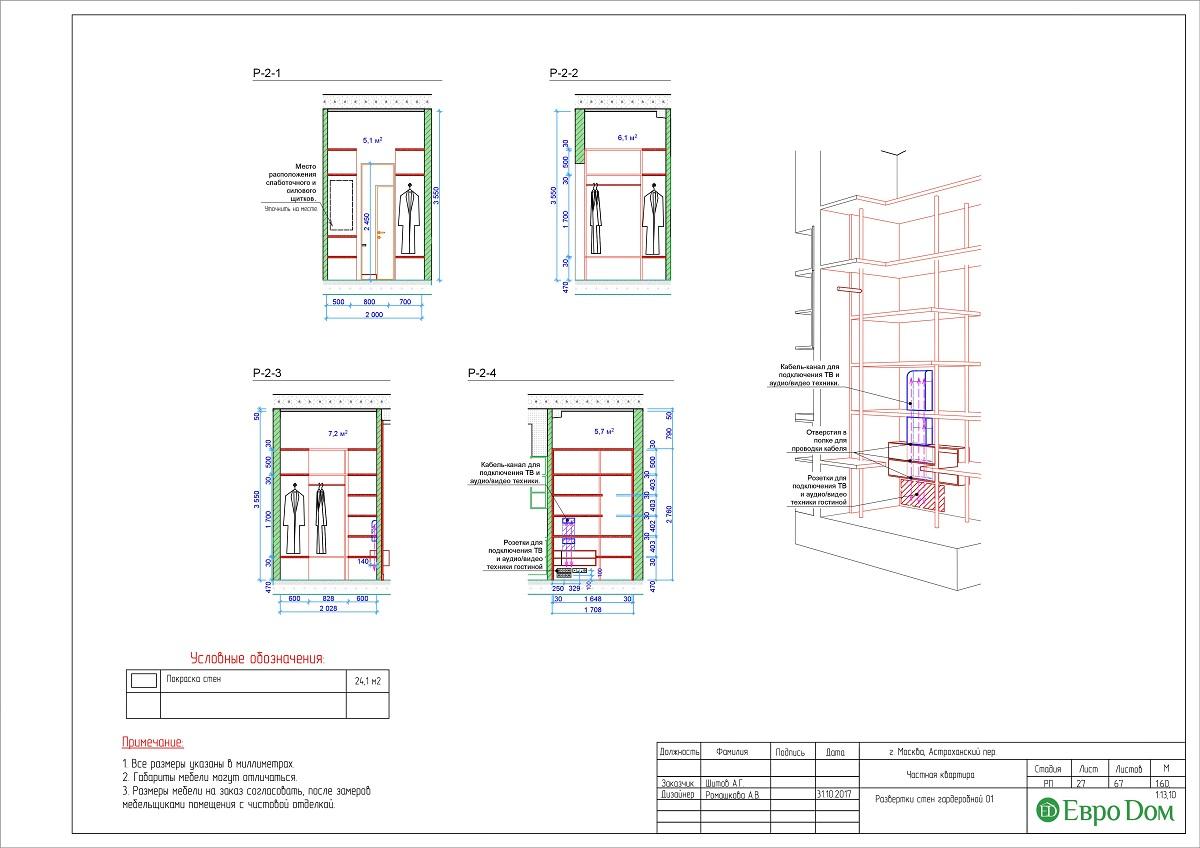 Дизайн 4-комнатной квартиры в стиле лофт. Фото 053