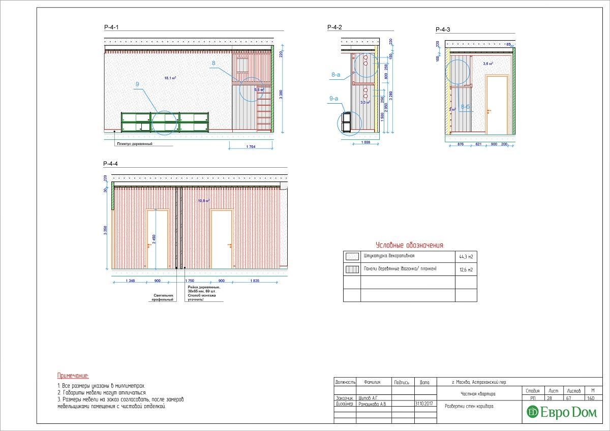Дизайн 4-комнатной квартиры в стиле лофт. Фото 054