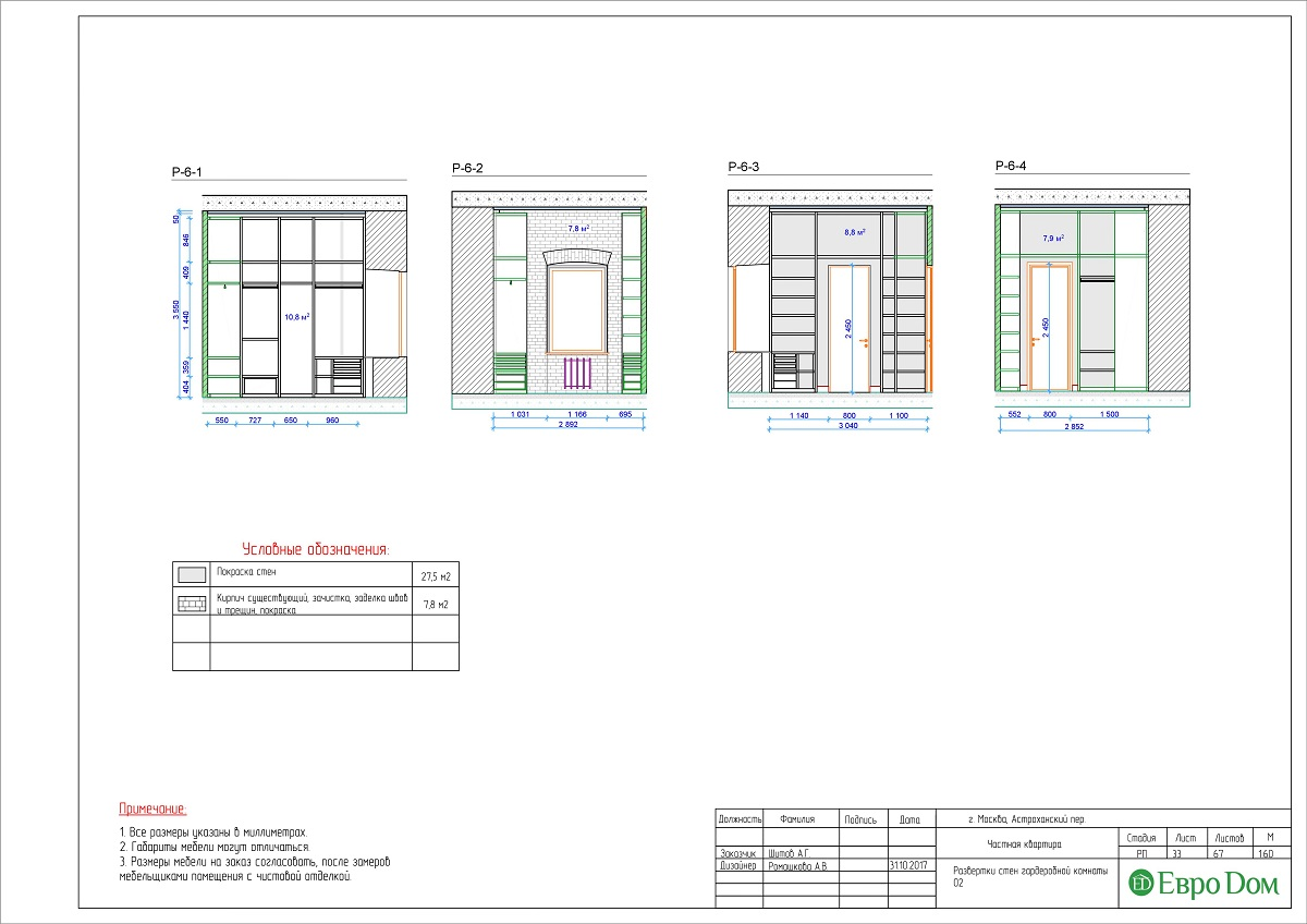 Дизайн 4-комнатной квартиры в стиле лофт. Фото 059