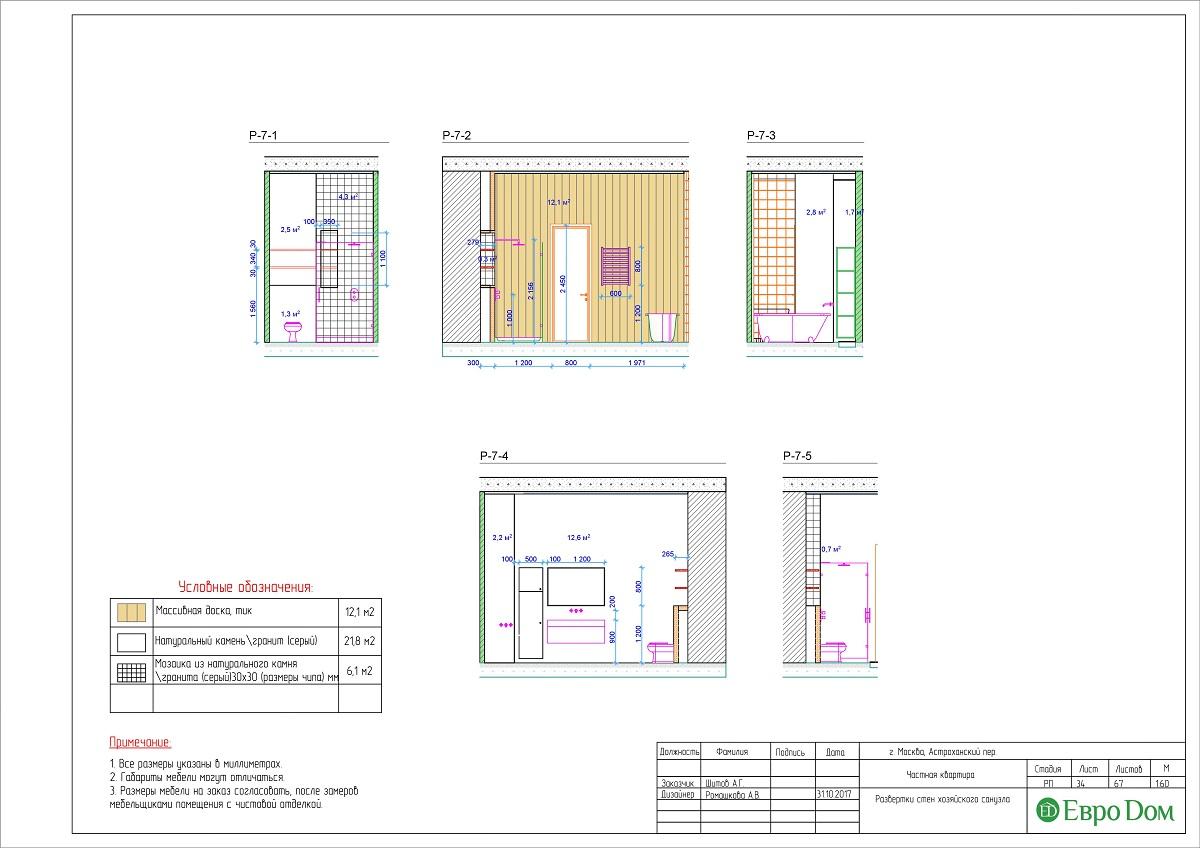 Дизайн 4-комнатной квартиры в стиле лофт. Фото 060