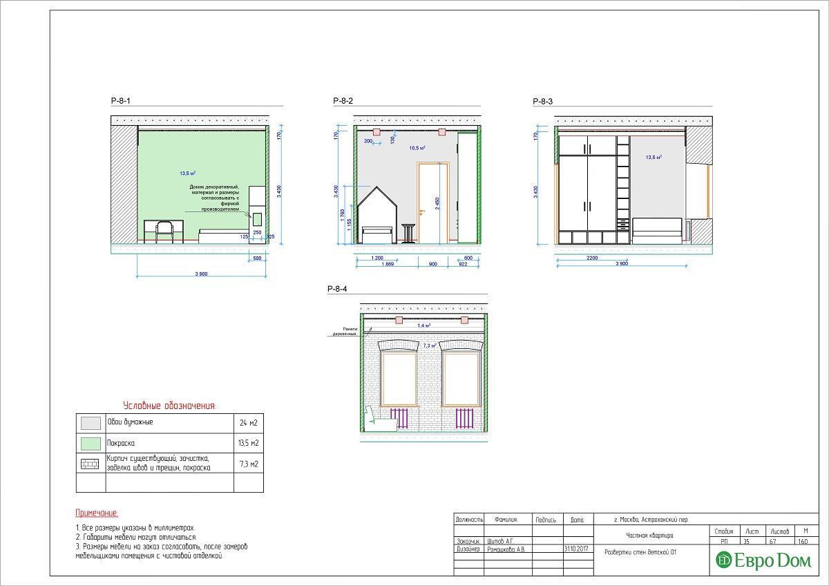 Дизайн 4-комнатной квартиры в стиле лофт. Фото 061