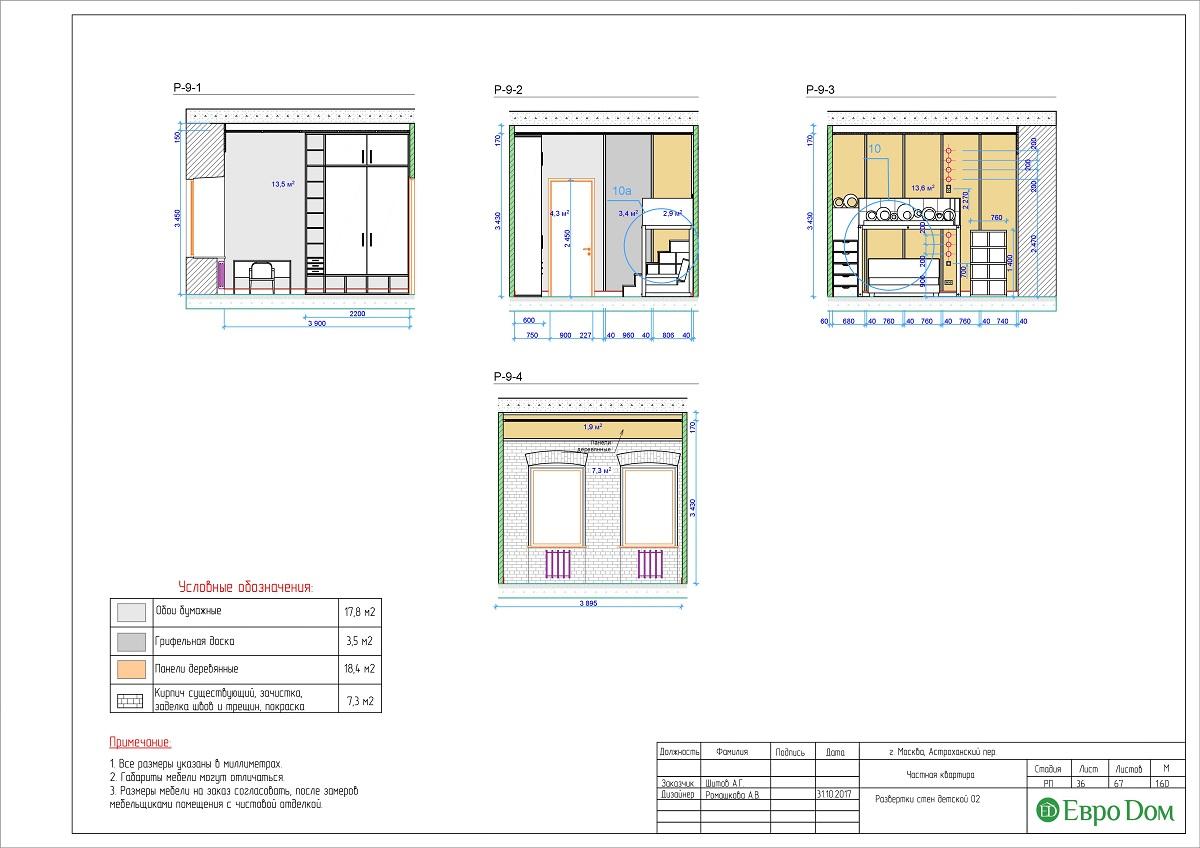 Дизайн 4-комнатной квартиры в стиле лофт. Фото 062