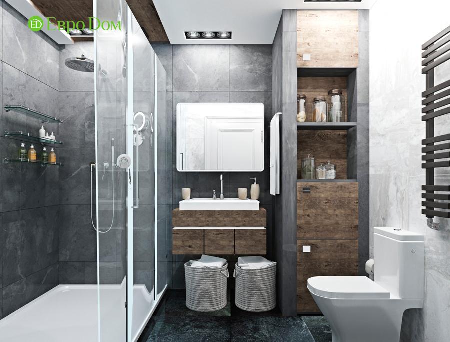 Дизайн 4-комнатной квартиры (120 кв. м) в стиле лофт. Фото 04