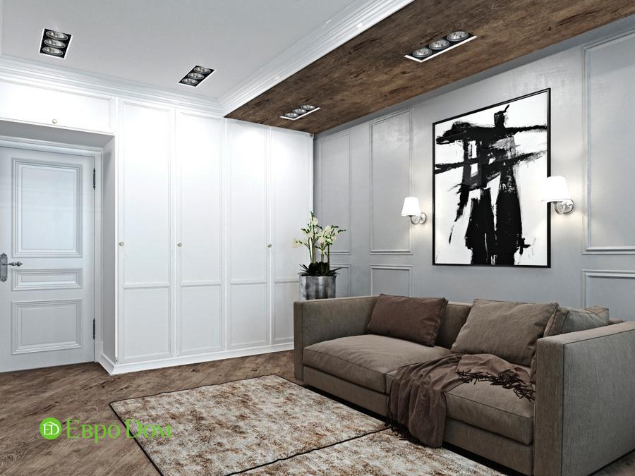 Дизайн 4-комнатной квартиры (120 кв. м) в стиле лофт. Фото 07