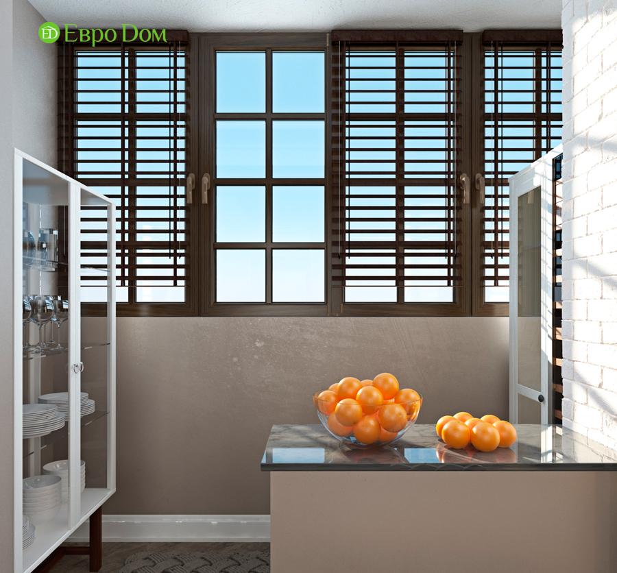 Дизайн 4-комнатной квартиры (120 кв. м) в стиле лофт. Фото 09