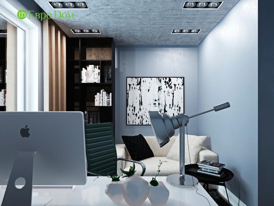 Дизайн 4-комнатной квартиры (120 кв. м) в стиле лофт. Фото 010
